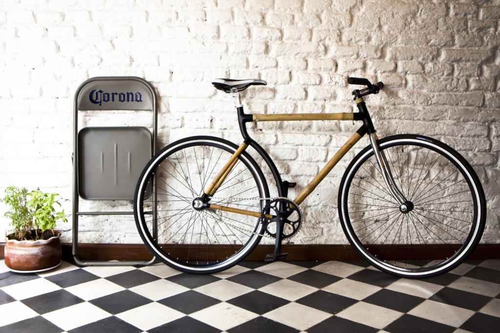 bici de bamboo
