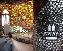 Casas Ecológicas: Construyendo casas con botellas de plástico