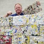 Casas Ecológicas: Hechas con bloques de papel reciclado
