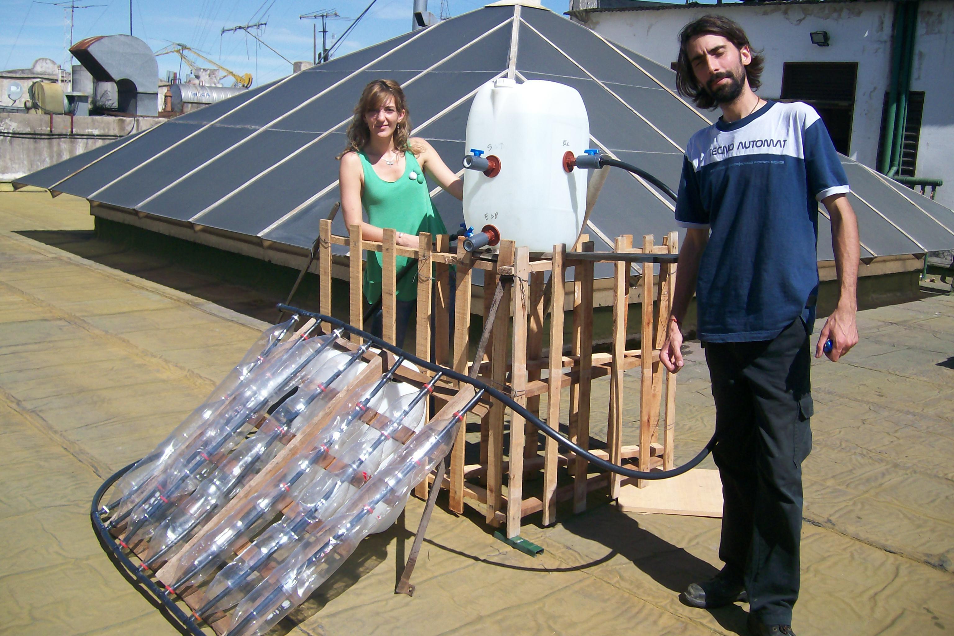 Como hacer un calentador solar de agua casero sencillo