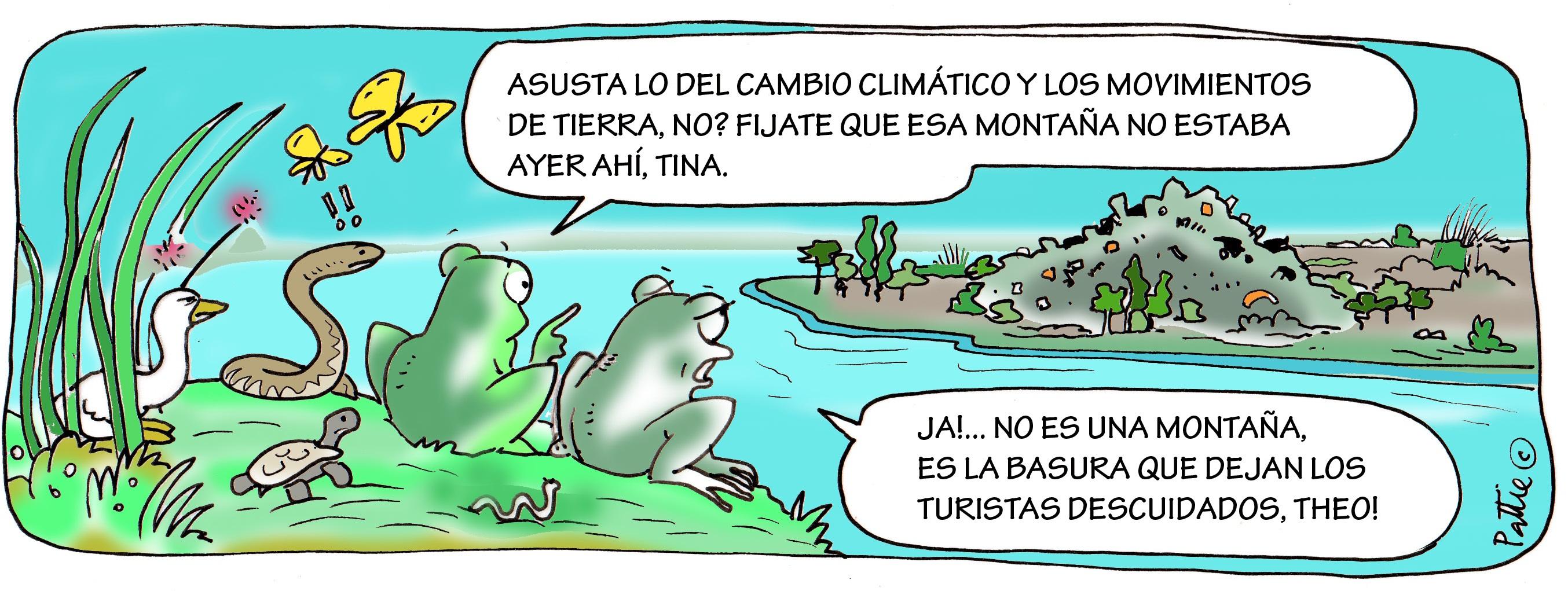 Wetland Environmental Cartoons