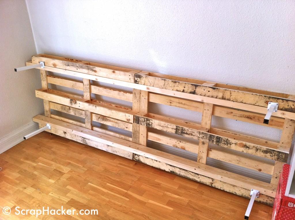 Decoraci n reciclado de palets espacio sustentable - Muebles palets reciclados ...