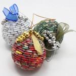 Navidad Reciclada: Esferas navideñas recicladas