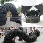 Reciclaje de Neumáticos: Más allá de tu imaginación