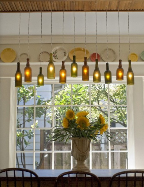 Ecodiseño: Como hacer lámparas con botellas recicladas