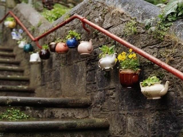 Haciendo Jardines Con El Reciclaje