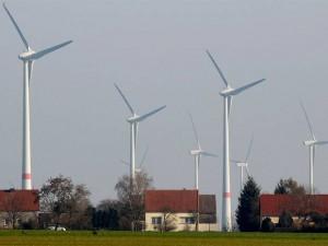 Molinos de energía eólica en Feldheim