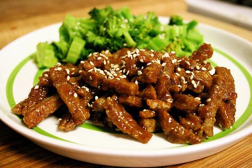 Como cocinar Seitán