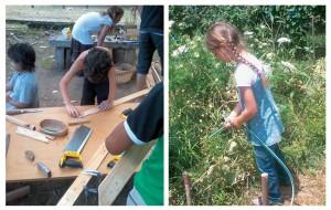 Educación Ambiental y carpintería en Escuelas Waldorf