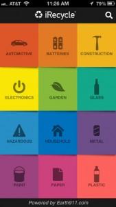 iRecycle, aplicación sustentable para el celular