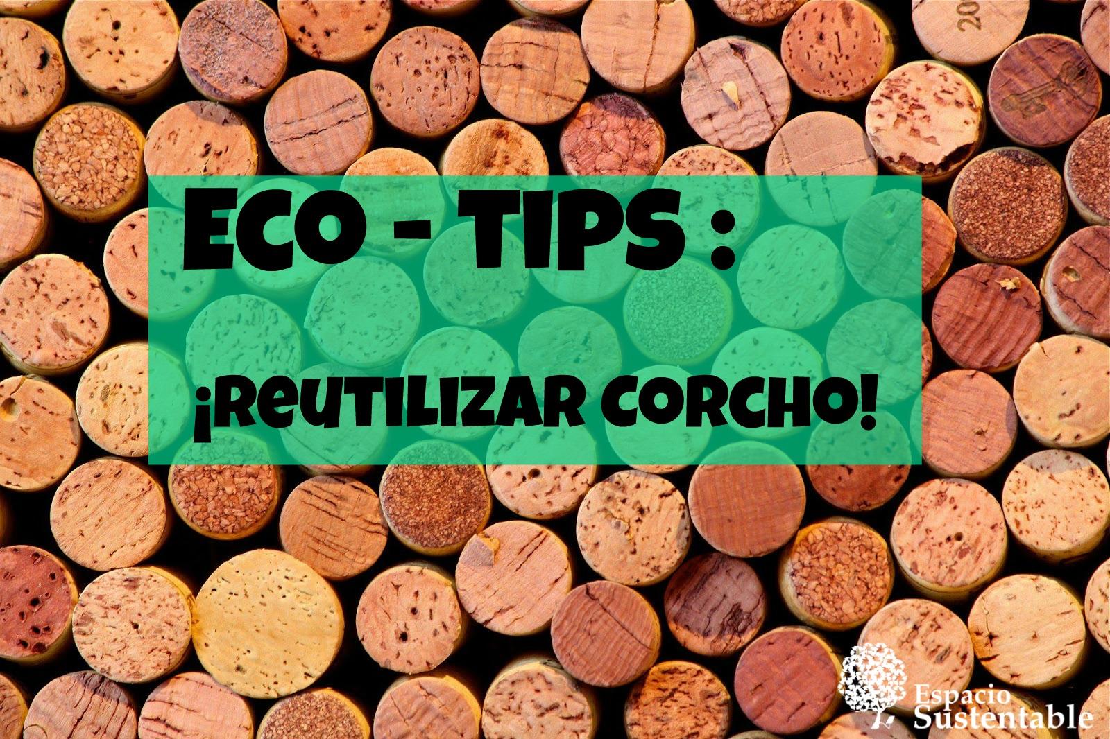 ¡ Ideas para reutilizar corcho !