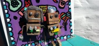 Arte y sustensabilidad: Esculturas robóticas con desechos de obras y demoliciones