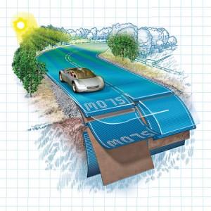 Energías Renovables: Autopistas inteligentes con paneles solares, por Mariana Pérez