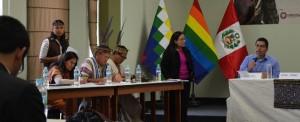 Reunión de pueblos Originarios en la PRE COP20