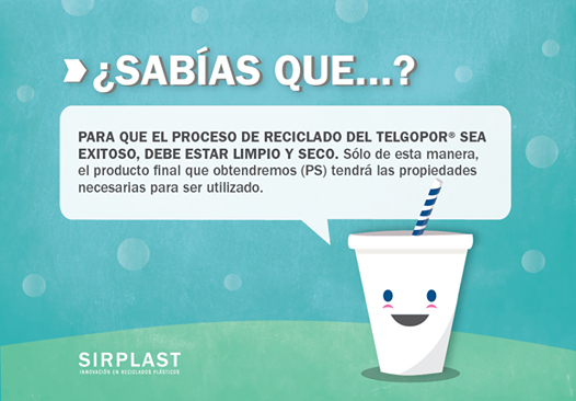 ¿ Como reciclo los vasitos de Tergopor®?