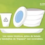 Argentina: ¡Existe una empresa que recicla Telgopor®!