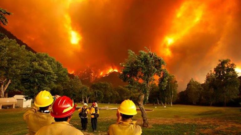 Incendio Forestal en Chubut
