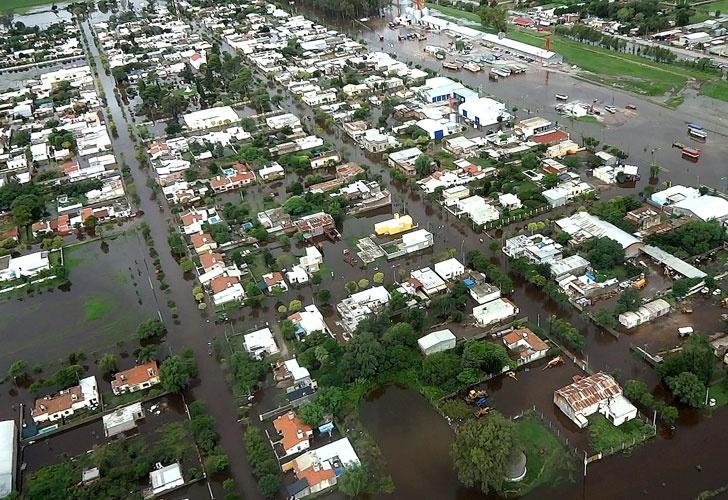Inundación en córdoba