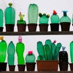 Arte con Botellas, de la mano de la artista checa Veronika Richterová