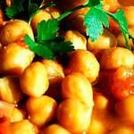 Recetas Vegetarianas: Guiso de Garbanzos para combatir el Frío por Natalia Finola