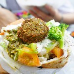 Alimentación Saludable: Recetas Veganas Sandwich de Falafel