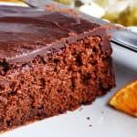 ¿Como hacer un Bizcochuelo vegano de naranja y chocolate ?