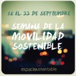 ¿ Que es la semana de la movilidad sustentable?