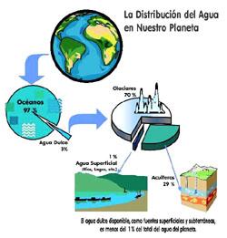 Distribución del agua