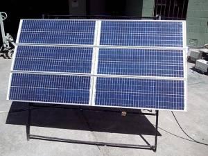 Luces led Recicladas que funcionan con energía solar