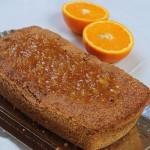 Alimentación Saludable: Budín vegano de naranja y nuez
