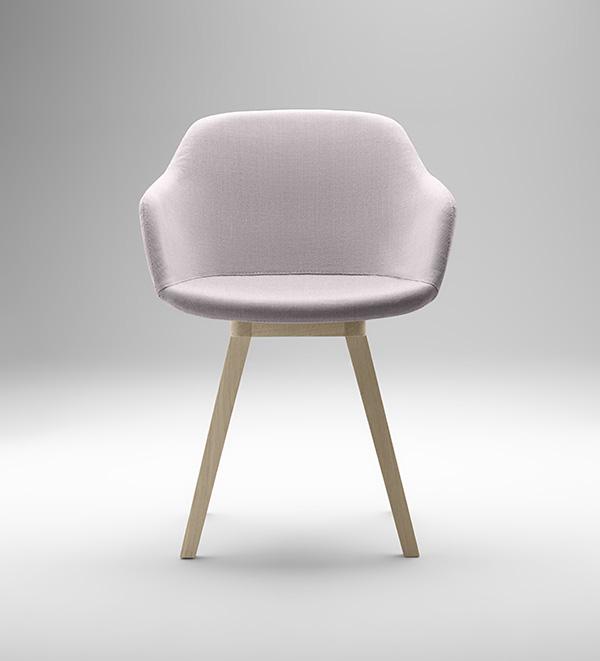Kuskoa Bi, la silla de bioplástico de Jean Louis Iratzoki para Alki, 2015.