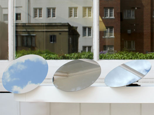 Iluminación solar con espejos