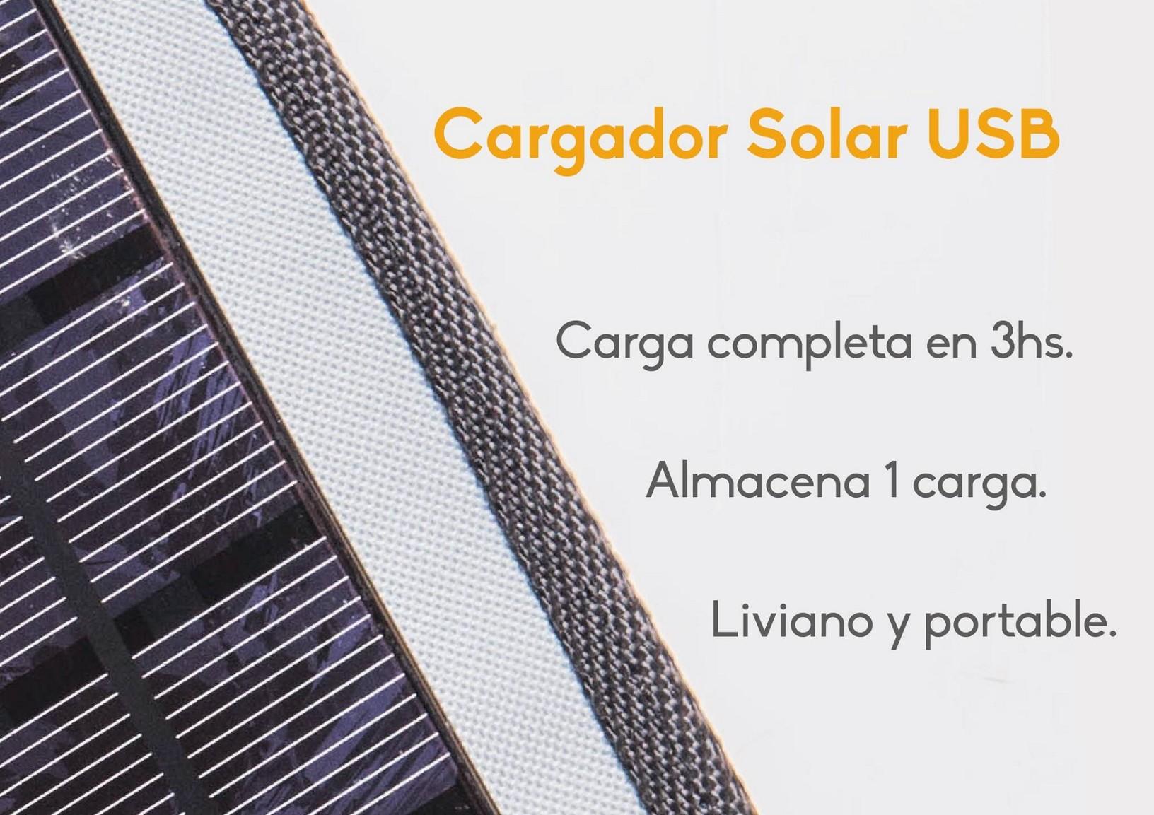 Cargador Solar Sune