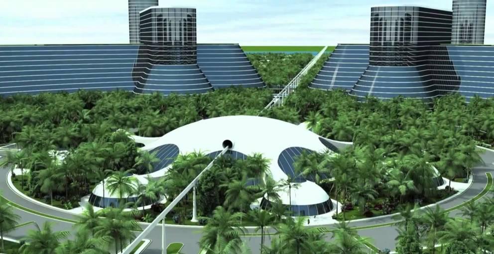 La energía solar también sería parte de este sistema sostenible.