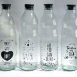 ¿ Que  hacer con las botellas de vidrio que no usamos?