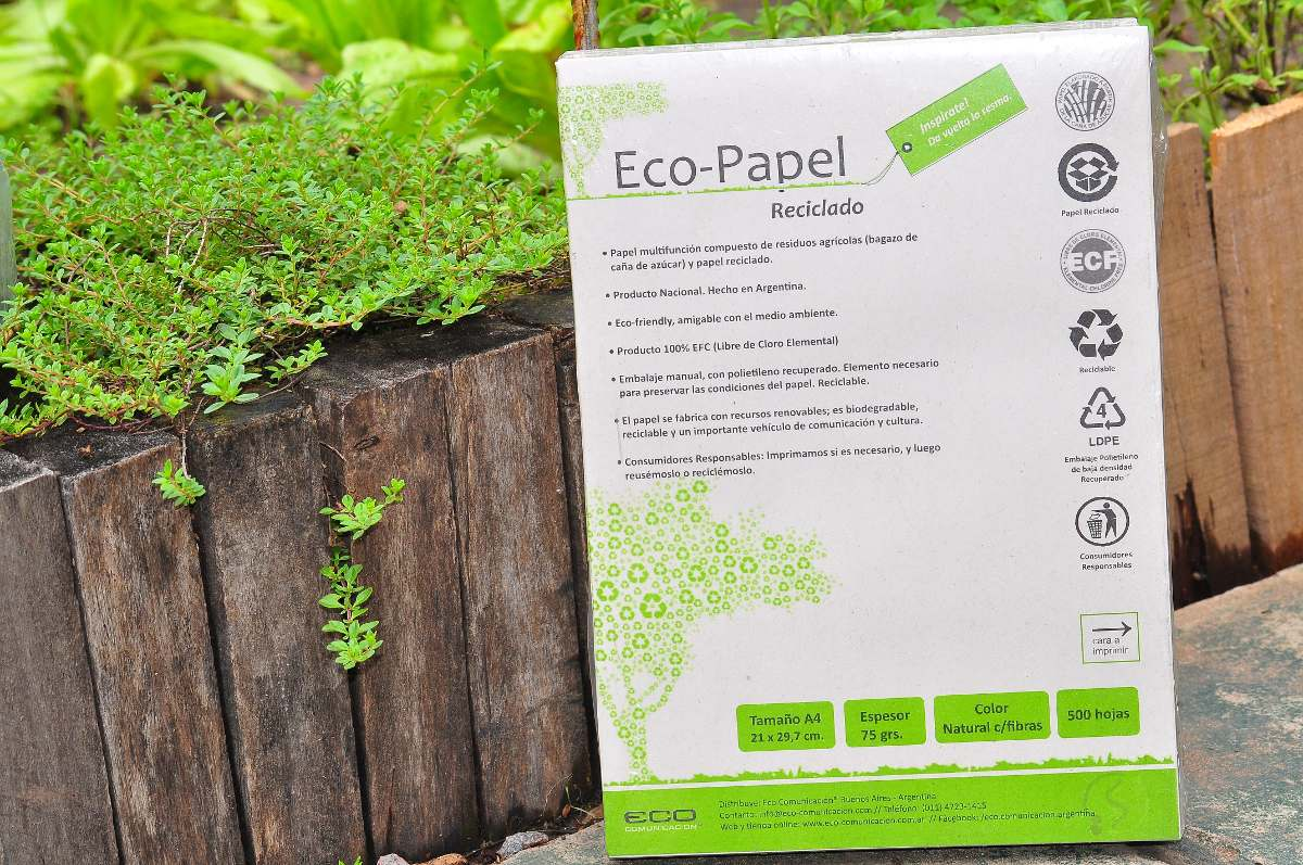 Eco papel en Argentina