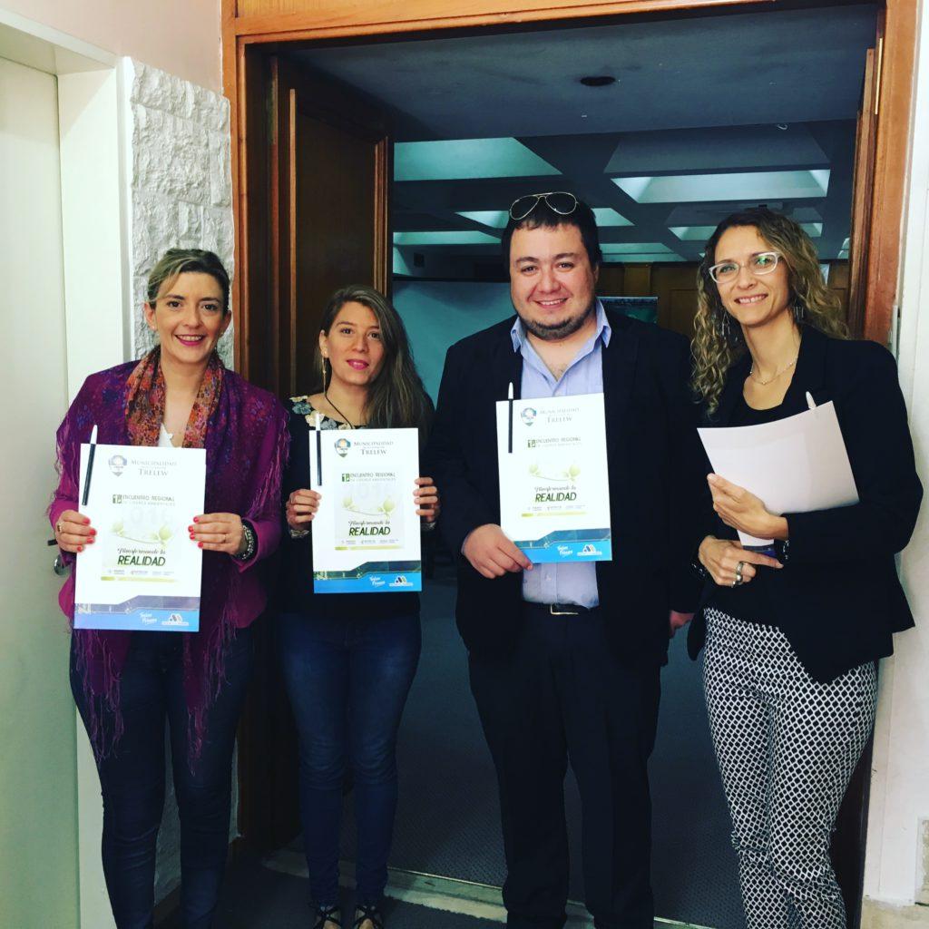 Organizadores de lideres Ambientales en Trelew