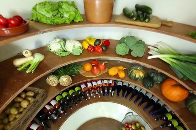 Su interior es ideal para diferentes productos con medidas acordes  para el almacenamiento