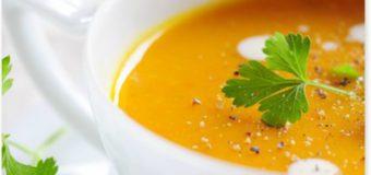 Sopa de calabaza y Cúrcuma